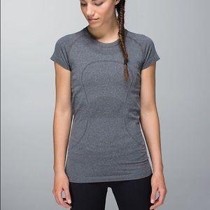 Lululemon Swiftly Tech short sleeve grey shirt
